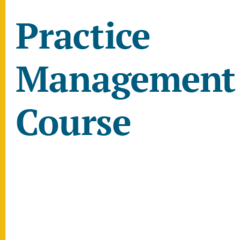 Practice Management Course (November 2020)